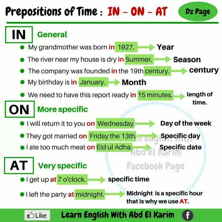 using prepositions in english pdf